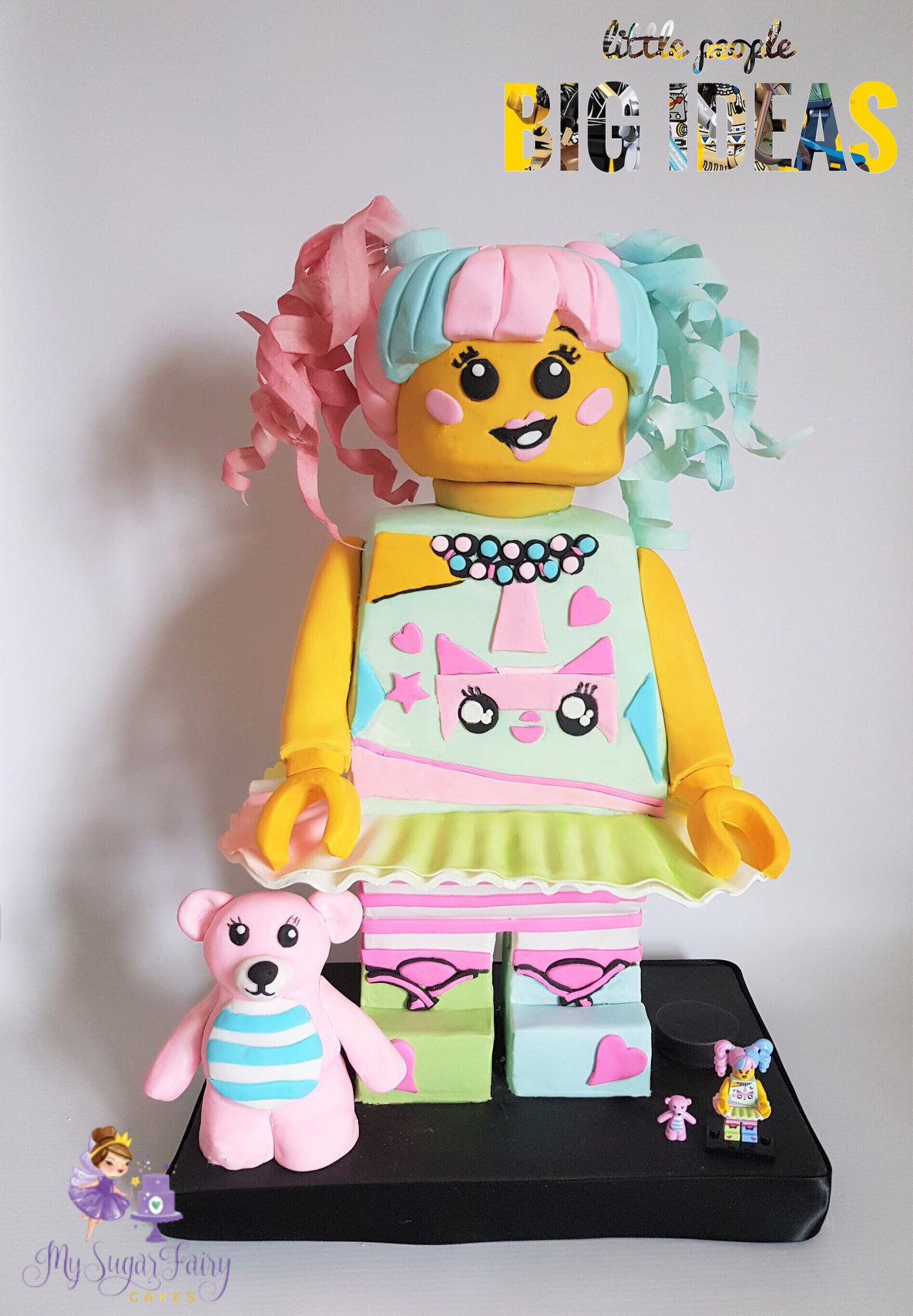 Standing Lego